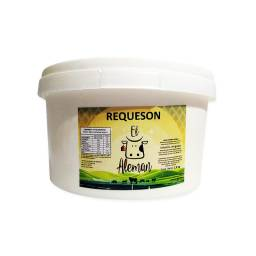 Queso Requeson Aleman Sin Sal 2.5 kg