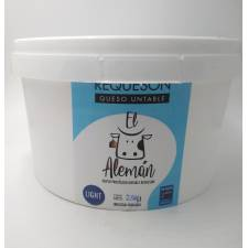 Queso Requeson Light Aleman 2.5 kg