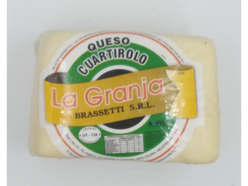 Cuartirolo Brassetti x 1 Kg