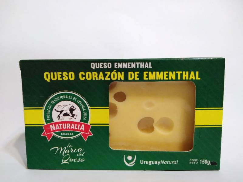 Queso Corazón de Emmenthal Granja Naturalia x 150 gr