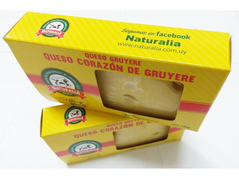 Queso Corazón de Gruyere Granja Naturalia x 150 gr