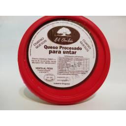 Queso Untable El Ombu x 900 gr Sabor Cuatro Quesos