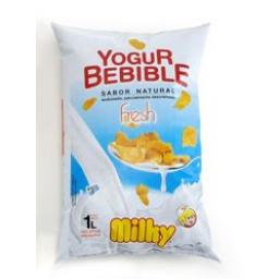 Yogur MILKY Natural Sachet 1 L